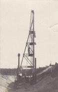 Foto Jastrow Jastrowie Neumark Polen Am Staudamm 1930 Arbeiter Dampfmaschine - Neumark