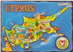 CHYPRE,KIBRIS,CYPRUS,plan,carte,map - Cyprus