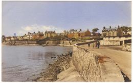 The Terrace, Elie - Postmark 1957 - Valentine's - Fife
