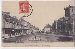 Louvigne Du Désert La Place De L'Eglise - France