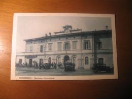 CARTOLINA FORMATO PICCOLO   -   SONDRIO MORBEGNO STAZIONE FERROVIARIA   - B   938 - Sondrio