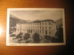 CARTOLINA FORMATO PICCOLO   -   SONDRIO MORBEGNO PALAZZO SCOLASTICO  - B   943 - Sondrio