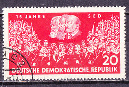Germania DDR 1961-SED -Usato