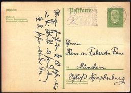 Germany Deutsches Reich Munich 1931 / Postal Stationery / 5 Pfennig / Machine Stamp / Hausbriefkasten - Lettres & Documents