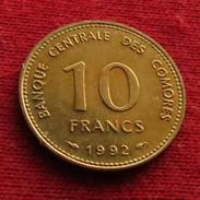 Comoros 10 Fr. 1992  Unc  Comores - Comores