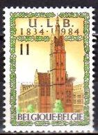 1984 - Belgium / Belgique -150 Years Of Free University Of Brüssel - 1v   - MNH** MI 2164 - België