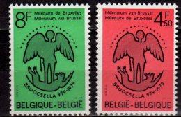 1979 - Belgium / Belgique - 1000 Years Of Brussel City - Issue 1- 2 V Paper - MNH** MI 1977/8 - Belgique