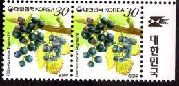 2011 S. Korea - Wild Vine - Wilder Wein (Vitis Amurensis) - 2v -  MNH**