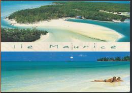 °°° 1181 - MAURITIUS - ILE AU CERFS - MONT CHOISY - With Stamps °°° - Mauritius