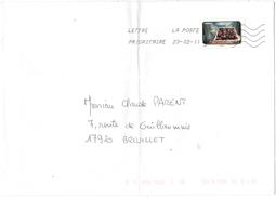 FRANCIA - France - 2011 - Lettre Prioritaire 20g Plaisir De L'eau - Viaggiata Da 38909A Per Breuillet, France - France