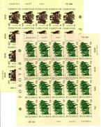 > ISLANDS FAROER, FOROYAR EUROPA 1981 2 SHEET - 2 FOGLIETTI FOLKLORE