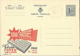 Publibel Neuve N° 1624AM ( Matelas STAR  - Zele) - Enteros Postales