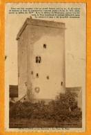 Montcenis (Saône-et-Loire) Aux Environs, Tour Du Bost         (Bords Dentelés)