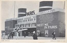 U.S.   CENTURY  OF  PROGRESS  1933  **  PARIS  EXPO.  BUILDING - Universal Expositions
