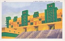 U.S.   CENTURY  OF  PROGRESS  1933  **  MAYA  TEMPLE AT  UXMAL - Universal Expositions