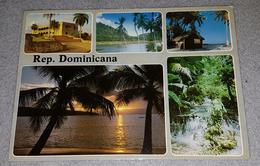REPUBLICA DOMINICANA- COLLAGE POSTCARD, PAISAJES DOMINICANOS - Postcards