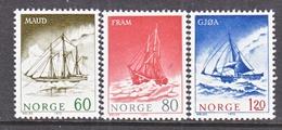 NORWAY  399-400   **  ANTARCTIC    SAILING  SHIPS - Antarctic Expeditions