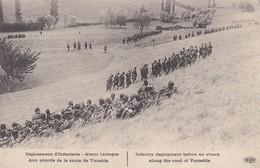 MILITARIA---déploiement D'infanterie-avant L'attaque-aux Abourds De La Route De Varedde--voir 2 Scans - Manoeuvres