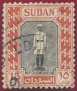 1951 - Policeman - Yt:SD 102 - Used - Sudan (1954-...)