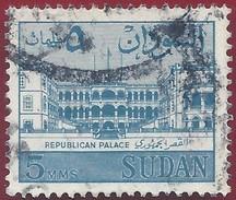 1962 - Palace Of The Republic In Khartoum - Yt:SD 144 - Used - Sudan (1954-...)