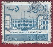 1962 - Palace Of The Republic In Khartoum - Yt:SD 144 - Used - Soedan (1954-...)