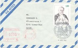 San Miguel De Tucuman - 1987 , Johannes Paul II. - Argentinien