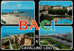 BACI   DA  CAVALLINO   LIDO      (VIAGGIATA) - Italia