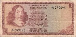AFRIQUE Du SUD   1 Rand   ND (1967)   Sign.5   P. 110b - Afrique Du Sud