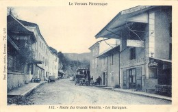 DROME  26  LE VERCORS PITTORESQUE  ROUTE DES GRANDS GOULETS  LES BARRAQUES  HOTEL - Francia