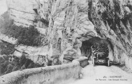 DROME  26   LE VERCORS  LES GRANDS GOULETS   AUTOCAR - Les Grands Goulets
