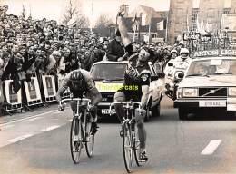 GRAND PHOTO DE PRESSE CYCLISME 24 Cm X 18 Cm PERSFOTO WIELRENNEN FOTO SPORT NEVENS - Ciclismo