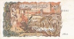 ALGERIE   100 Dinars   1/11/1970   P. 128a - Algérie