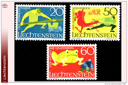 Liechtenstein 0466/68**  Legendes III  MNH