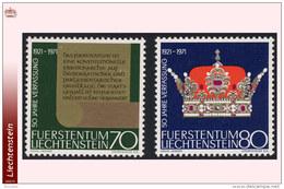 Liechtenstein 0489/90**  Constitution  MNH
