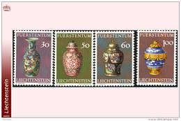 Liechtenstein 0545/48** Vases MNH