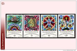 Liechtenstein 0608/11**  Signes Du Zodiaques II   MNH - Faciale 3 FS