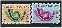 Saint Marin ** N° 833/834 - Europa - Année 1973