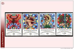 Liechtenstein 0654/57** Zodiaques  MNH Faciale: 3.20 FS