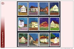 Liechtenstein 0633/38&41/46**  Patrimoine  MNH - Faciale: 9.55 FS