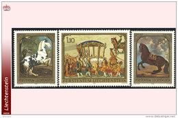Liechtenstein 0658/60** Tableaux 1978  MNH - Faciale: 2.60 FS