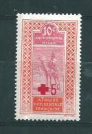 Colonie Timbres   Du Haut Senegal Et Niger  De 1915   N°35  Croix Rouge Neuf * - Haut-Sénégal Et Niger (1904-1921)