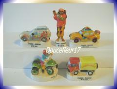 Dakar 1... Lot De 5 Fèves .. Ref AFF : 72-1999 ...( Pan 009) - Sports