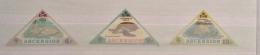 Ascension 1973 TURTLES SET MNH