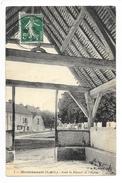 MONTCHAUVET  (cpa 78)  Sous Le Portail De L'église -   - L 1 - Autres Communes