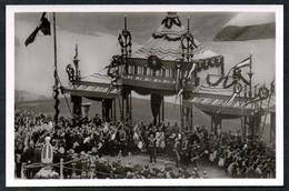 A1208 - Alte Foto Ansichtskarte - Nationaldenkmal Niederwald Einweihung 1883 - Heinz Trapp - N. Gel TOP - Monuments