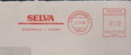 M 452) AFSt Trossingen 1999: SELVA Uhrenbau Und Hobby, Uhr - Uhrmacherei