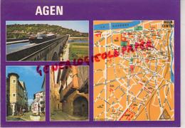 47 - AGEN - PLAN CENTRE - Agen