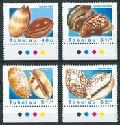 1996 Tokelau Conchiglie Shells Coquilles Set MNH** Te192 - Tokelau