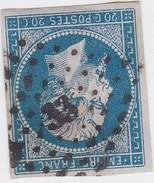 N° 14 A    PC 33    AIX EN PROVENCE    /  BOUCHES DU RHONE  -    REF JC + VARIETE - 1853-1860 Napoleon III