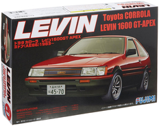 Toyota Corrola Levin 1600 GT-Apex 1/24 ( Fujimi ) - Cars